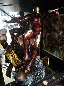 SIDESHOW Iron Man Mark  7 Maquette Statue