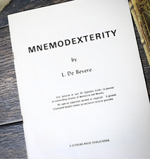 Mnemodexterity by L. De Bevere from Murphy's Magic - Book