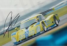 Darren turner main signé krohn racing photo 12x8 du mans.