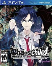 Chaos Child (Chaos;child) PlayStation Vita, PSV + Artbook - Brand New