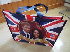 NEW Royal Wedding Reusable Shopping Bag Prince Harry & Meghan Souvenir Gift BNWT