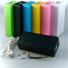 Powerbank mobiler Akku 5600 mAh USB Ladegerät Universal Smartphone Power Bank