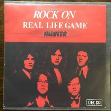 "Vinyl Hunter Rock On Real Life Game Decca  7"" EX /VG+  45 rare Penny Farthing"