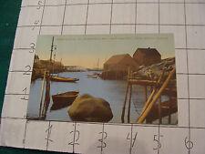 Vintage Postcard: PEGGY'S COVE, st margaret's bay, nova scotia