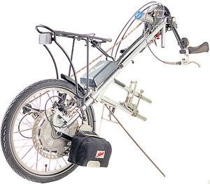 Speedy Duo 2 Handbike m. elektr. Unterstützung Bike Rollstuhl Elektroantrieb #SB