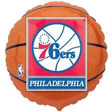 Philadelphia 76ers Basketball Foil Balloon NBA Licensed Tailgate Birthday