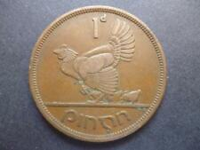 EIRE (IRELAND REPUBLIC) 1946 PENNY COIN, BRONZE, IRISH 1946 ONE PENNY COIN.