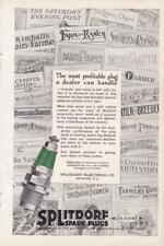 1919 Splitdorf Spark Plug Color 2 page ad