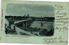 CPA Moulins-Pont sur l'Allier et vue d'ensemble (262581)