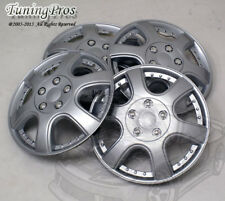 "T2 Style Hubcap 14"" Inch Wheel Rim Skin Cover 4pcs Set-Style Code 011 14 Inches-"