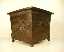Cache-pot au dragon phoenix et tortues en bronze Japon c 1900 Japan planter