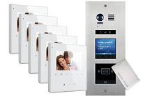 VOSPER 5 Apartments Proximity Reader AVRO Monitors