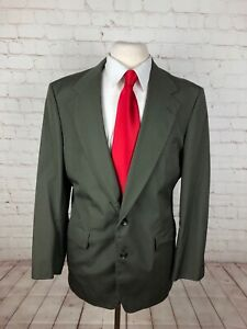 Adams Row Men's Olive Green Two Button Blazer 42R $218