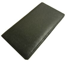 Authentic LOUIS VUITTON Taiga wallet card case Leather #8360