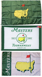 The Masters Green Flag 3x5 Golf 3 x 5 Banner Augusta Georgia Golf Club New USA