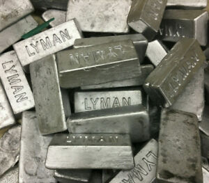 50 Lbs. of Lead Ingots made from Wheel Weights