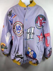 Vintage Headgear NLBM Negro League Baseball Museum Wool Coat XXL