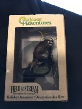 Kurt S Adler Field and Stream Outdoor Adventures Brown Bear Christmas Ornament
