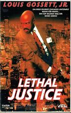 (VHS) Lethal Justice - Louis Gossett Jr., Anthony LaPaglia, Peter Coyote  (1991)