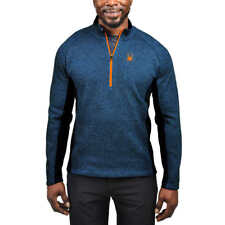 NWT Mens Blue Spyder Outbound mid weight core Stryke Sweater Size X-Large XL