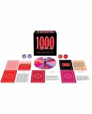 1000 Sex Games | Adult Board Game for Couples | Fun Saucy Gift | 1st Class Post