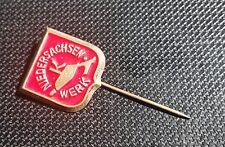 Niedersachsen-Werk Rabber Anstecknadel Hohlblech 15x16mm alt+original