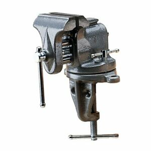 """Wilton 153 3"""" Jaw Clamp-On Bench Vise 2.5"""" Opening 2-5/8"""" Depth - 33153"""