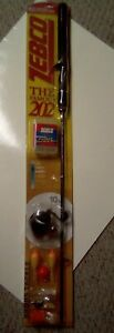 Zebco 202 Rod And Reel Combo 2014 in Package but open bottom half of rod only