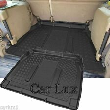 Alfombra Protector Cubre maletero LAND ROVER DISCOVERY II 7 plazas tapis coffre