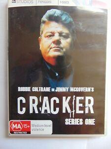 Cracker - Series 1 - Robbie Coltrane - Region 4 DVD - FREE POST