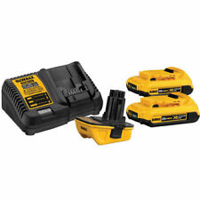 DEWALT 20V MAX Li-Ion Battery Adapter Kit for 18V Tools DCA2203C New
