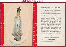 1346 SANTINO HOLY CARDNOSTRA SIGNORA NOSSA SENHORA MADONNA DEL ROSARIO DI FATIMA