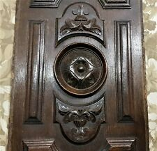 Gothic Rosette decorative carving panel Antique french architectural salvage