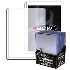 25 Rigid Plastic 59pt Thick Card Top Load Holders 1.5 mm Toploaders Baseball BCW