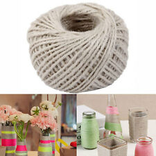 50M/Roll White Jute Rope Twine String Cord for DIY Scrapbooking Craft Making