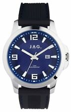 Jag Frank Blue and Silver Men's Watch J2342