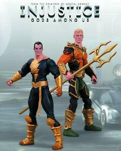 DC Comics Injustice Aquaman vs Black Adam Figure 2-Pack
