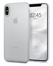 iPhone X Case, Spigen Air Skin Cover - Soft Clear