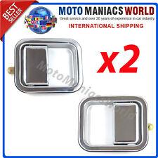 JEEP WRANGLER TJ 97-06 Esterno Maniglia Porta ANTERIORE SX & DX x SET 2 pezzi
