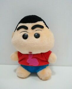 "Crayon Shin Chan Rabbit Red Shirt Taito Plush 7.5"" Stuffed Toy Doll Japan"