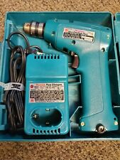 MAKITA CORDLESS DRILL WITH FAST CHARGER CARRY CASE MODEL 6010D (with BATTERY)