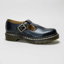 "Dr. Martens Women's 100% Leather Flat (less than 0.5"") Shoes"