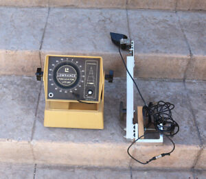 Vtg LOWRANCE LFP-150 FISH LO-K-TOR Portable Fishfinder & Transducer Ice Fishing