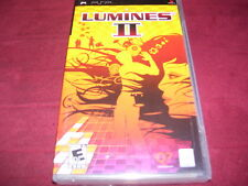 LUMINES II PSP FACTORY SEALED!!!  C@@L!!!  L@@K!!!