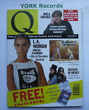 Q MAGAZINE - December 1990 - Sinead O'Connor / Sisters of Mercy / Happy Mondays