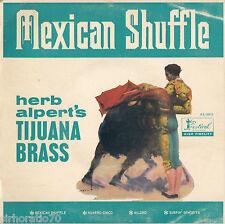 HERB ALPERT TIJUANA BRASS Mexican Shuffle - Mono EP 1960's
