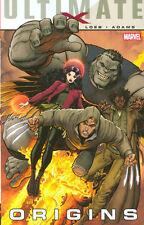 ULTIMATE COMICS X: ORIGINS TPB Jeph Loeb Arthur Adams Marvel Comics #1-5 TP