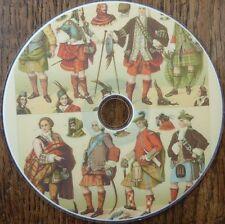 Vintage LE COSTUME HISTORIQUE 6 books 500 colour illustrated Art Research DVD