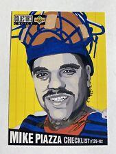 1994 Collectors Choice Mike Piazza Gold Signature Checklist #318 LA Dodgers🔥