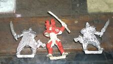 warzone mutant chronicals oop metal (3) Lot bits 98/99 target games